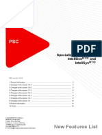 IGS NT PSC 1.9.0 New Features List