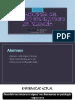 Semiología Del Aparato Respiratorio en Pediatría