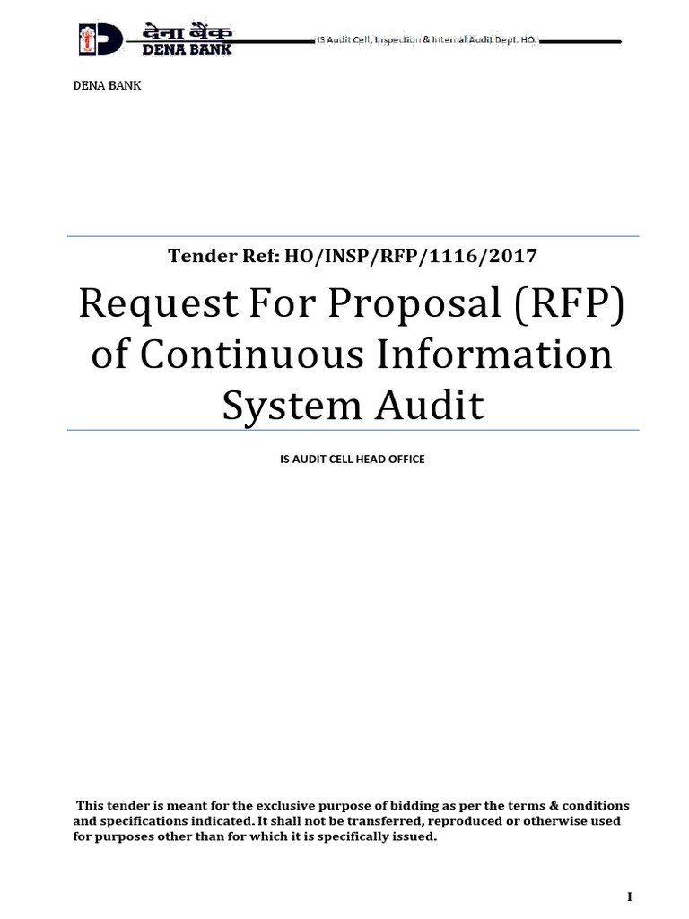 1508331146770 Ten RFP Continuous is Auditor 2018 | Request For