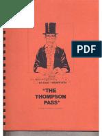 Frank Thompson - The Thompson Pass