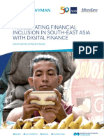 Financial Inclusion Se Asia
