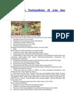 Pergerakan Nasionalisme Di Asia Dan Afrika