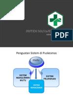 2. Sistem Manajemen Mutu - Akreditasi Puskesmas