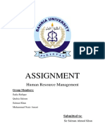 HRM-Final With Cover Page