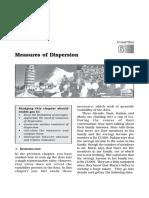 11 Stat 6 Measures of Dispersion