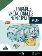 Actividades Vacacionales 2018 Cas