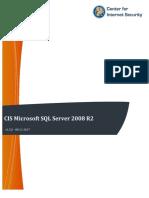 CIS Microsoft SQL Server 2008 R2 Benchmark v1.5.0