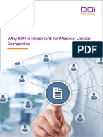 Why RIM is Important for Medical Device Companies