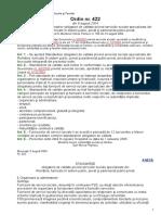 Ordin nr422-2004