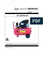Leverage Air Compressor