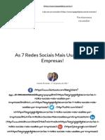 As 7 Redes Sociais Mais Usadas por Empresas!.pdf