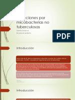 Infecciones Por m. No Tuberculosas
