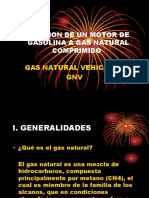 Conversion de Gasolina a Gnv