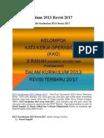 KKO Kurikulum 2013 Revisi 2017