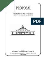 Proposal Ke Bupati Kedua