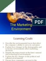 Chap 2 the Marketing Environment