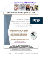 NT Report EMIS 2012-13 Ver 13.0.5 Education Census ICT