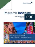 The Chinese Consumer 2017