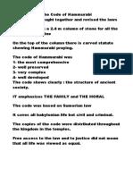 kreu 1 = Hammurabi's law and mosaic law