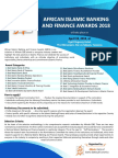 African Islamic Banking and Finance Awards 2018