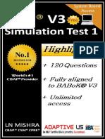 Free CBAP Simulation Question Set 01