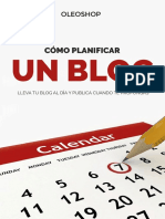 eBook Como Planificar Un Blog