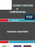 Chronic Venous Disease and Lymphedema
