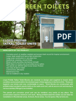 Lloyd Prefab Toilet