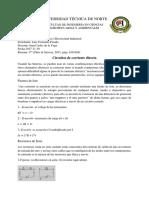 4.-Resumen Crcuitos de Corriente Directa. Proaño Luis