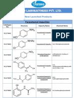 Paracetamol Impurities