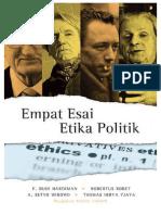 Empar Esai Etika Politik - Setyo Wibowo, Budi Hardiman, Robertus Robet, Thomas Hidya Tjaya