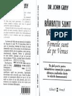 John Gray-Barbatii sunt de pe marte, femeile sunt de pe venus pdf.pdf