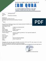 Permohonan Akreditasi PKBM QUBA