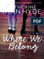 Hyde, Catherine Ryan - Where We Belong (2013)