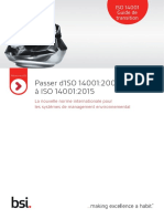 ISO 14001 Guide de Transition
