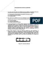 (Lista de Exercicios - Cálculo Básico Para Maquinas de Combustão Interna)