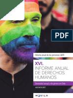 XVI Informe Anual de Derechos Humanos de la Diversidad Sexual y de Género - Movilh
