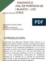 Presentación Yacimiento mineral Rio Blanco los Bronces