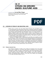 35. Perspectives on Specific Substance Sulfuric Acid