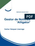 Gestor de Noticias Alligator