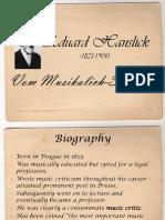 Aesthetics Hanslick