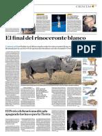 El Final Del Rinoceronte Blanco