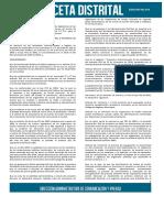 Acuerdo 004 - 2016 Nuevo Estatuto Tributario Distrital