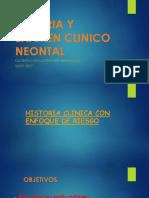 1. Historia y Examen Clinico Neontal