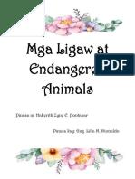 Mga Ligaw at Endangered Animals ESP.docx