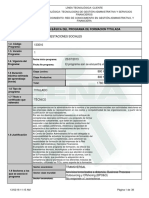 Programa de Formación Titulada Nomina y Prestaciones Sociales