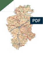 Burgos Mapa Provincial