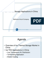 Ice Thermal Storage Applications