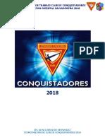 Plan Club de Conquistadores 2018