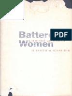 [Professor Elizabeth M. Schneider] Battered Women
